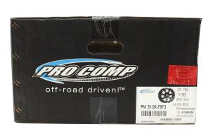 Pro Comp Series 39 Satin Black Milled Wheel 17x9 (Part Number: )