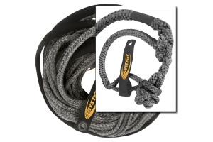 Daystar Winch Line 50ft w/Shackle End (Part Number: )