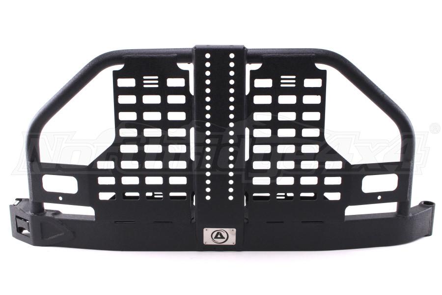 Smittybilt XRC Atlas Rear Tire Carrier Black (Part Number:76896-02)