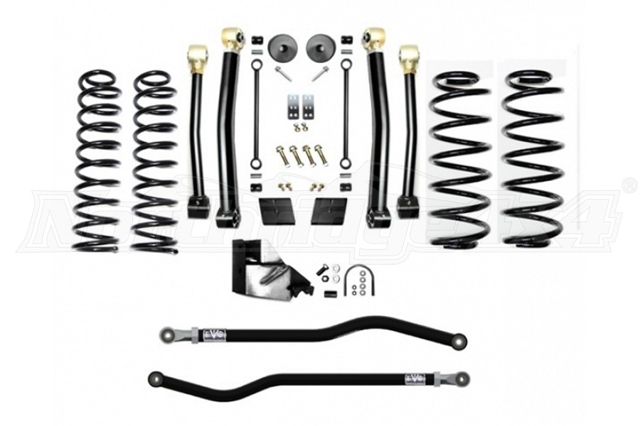 EVO Manufacturing 3.5in Enforcer Lift Kit, Stage 3 - PLUS (Part Number:3013S3P)