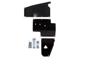 Synergy Manufacturing Skid Plate System Black - JK 2012+