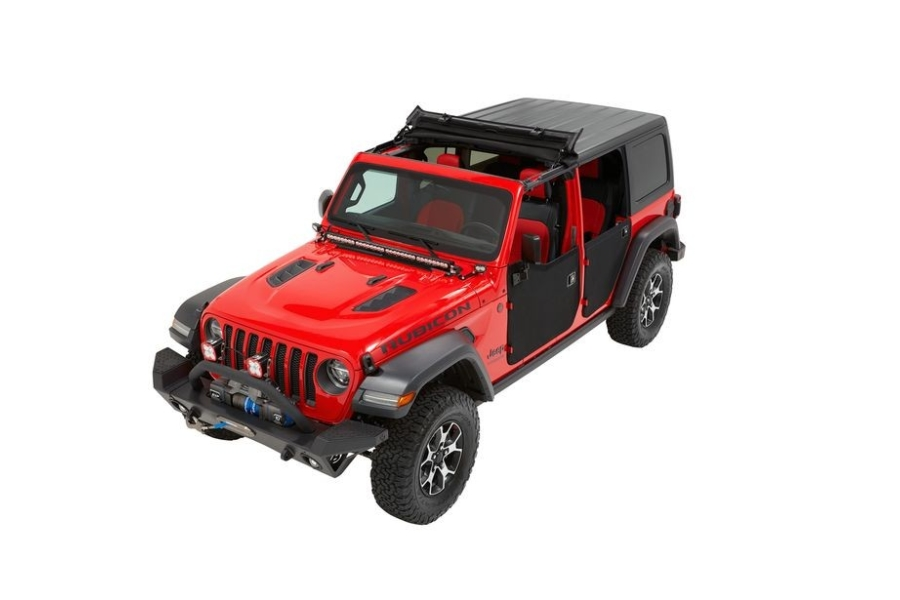 Bestop Sunrider Soft Top for Hard Tops - Black Diamond - JT/JL