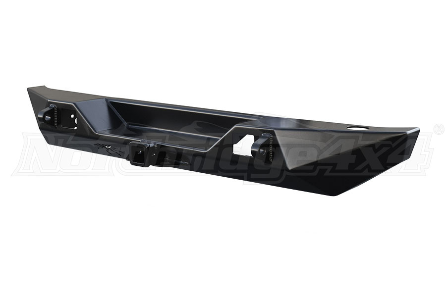 Poison Spyder Bruiser Rear Bumper, Powder Coated  - JK
