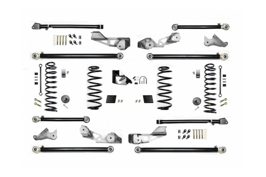 EVO Manufacturing 3.5in High Clearance Long Arm Lift Kit - JL 4dr