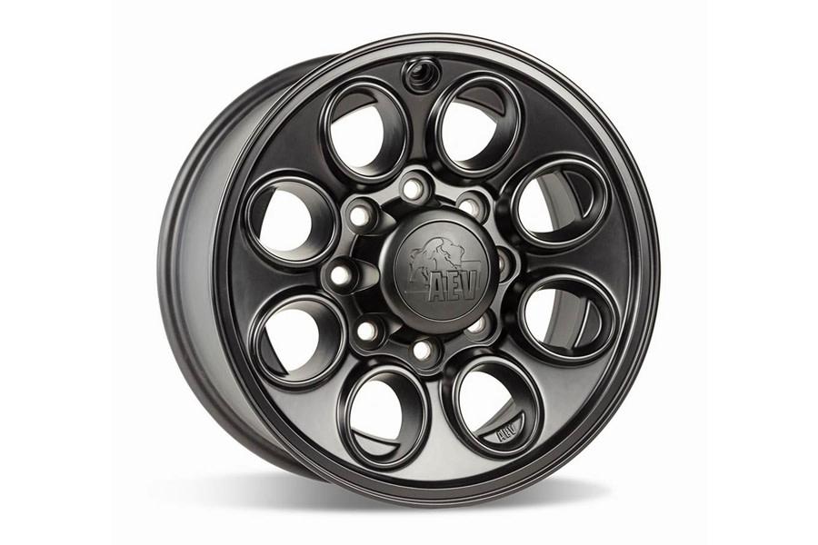 AEV RAM Katla Wheel, 17x8.5 8x6.5 - Black