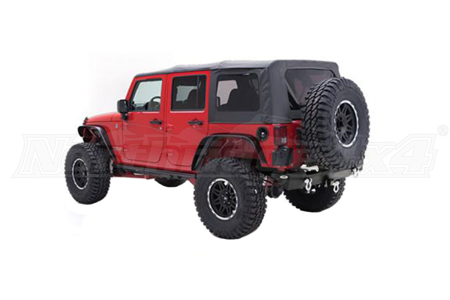 Smittybilt Replacement Soft Top with Tinted Windows - JK 4DR 2007-09