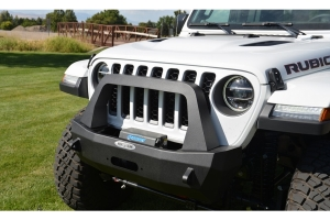 Rock-Slide Engineering Rigid Series Stubby Front Bumper w/ Bull Bar  - JT/JL