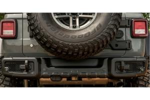 Rugged Ridge Spartacus Rear Bumper - Black - JL