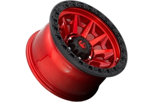 MHT Fuel D695 Covert Series Wheel, 17x9 5x5 - Candy Red  - JT/JL/JK