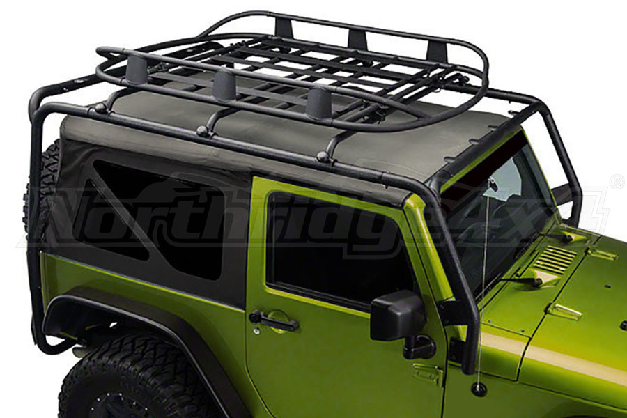 Jeep Jk 2dr Smittybilt Src Roof Rack Black Jeep Rubicon