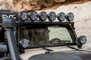 KC HiLites 50in Xross Bar w/Apollo Pro 6-Light Kit - JK