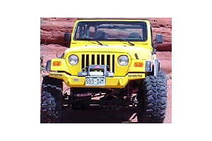 M.O.R.E. Hi-Clearance Rock Proof Front Bumper (Part Number: )