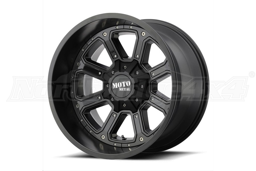 Moto Metal Wheels MO984 Shift Series Wheel, 20x9 8x6.5