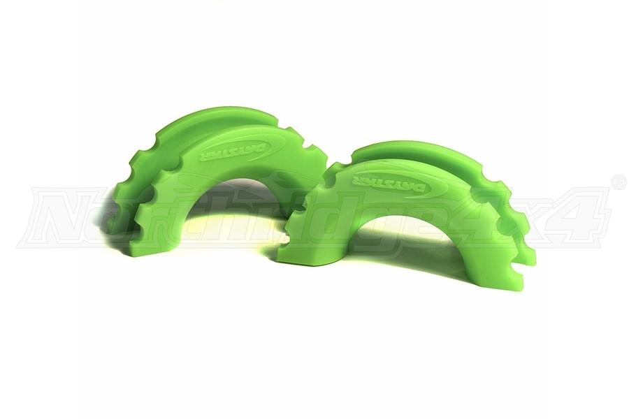 Daystar D-Ring/Shackle Isolators - Fluorescent Green