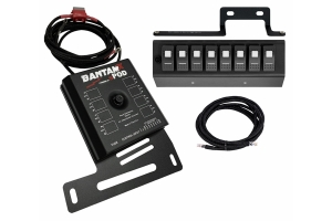 SPod BantamX w/LED Switch Panel, Red - 09+ JK