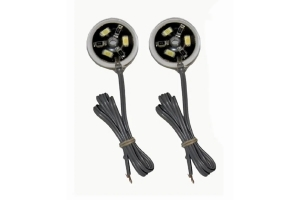 Off Road Only LiteSpot Rock Lights Chassis LEDs, Pair - Red