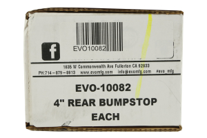 EVO Manufacturing Bumpstop Kit Rear 4in (Part Number: )