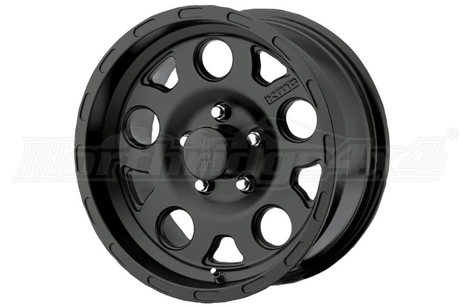XD SERIES ENDURO MATTE BLACK 17X9 5x5 (Part Number:XD12279050706N)