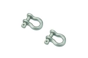 Bestop HighRock 4x4 Shackles/D-Rings, Pair