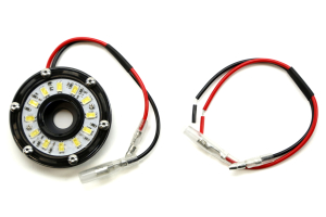 KC HILITES 2IN Cyclone LED Accessory Light, Clear ( Part Number: 1350)
