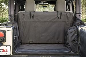 Rugged Ridge C3 Cargo Cover, 2-Door w/Subwoofer - JK 2DR