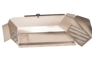 Fishbone Offroad Rear Raw Aluminum Inner Fenders - JT
