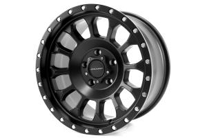 Pro Comp Xtreme Alloys Rockwell Satin Black 17x8.5 ( Part Number: 5034-78573)