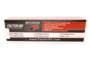 Factor 55 Hitchlink Red