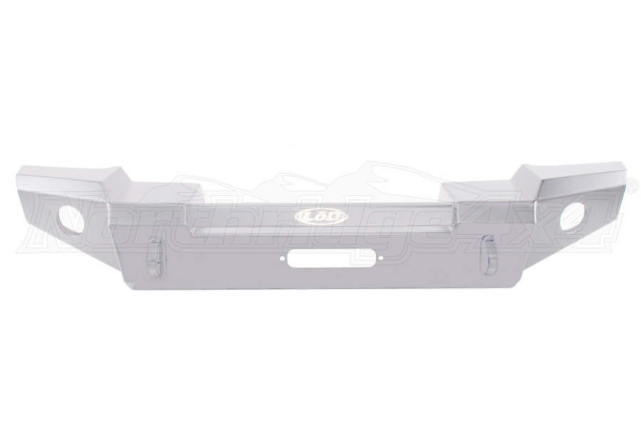LOD Signature Series Full Width Front Bumper w/No Guard Bare Steel ( Part Number: JFB0750)