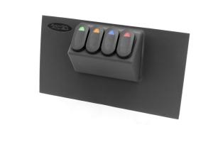 Rugged Ridge Lower Switch Panel Kit  - JK 2007-10