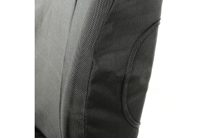 Rugged Ridge E-Ballistic Front Seat Cover Set, Black (Part Number: )