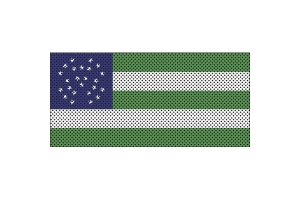 Under The Sun Inserts NYPD Flag Grill Insert - JL