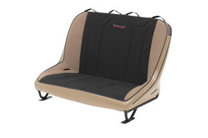 MasterCraft Rubicon Rear Bench Seat w/o Headrests Tan / Black (Part Number: )