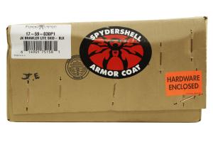 Poison Spyder Brawler Lite Front Skid Black (Part Number: )