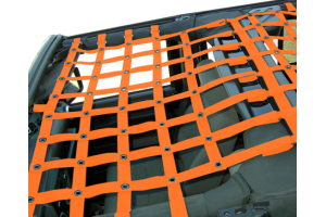 Dirty Dog 4x4 Front Netting Orange (Part Number: )