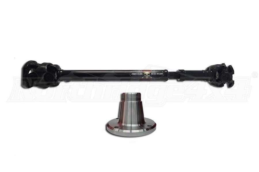 Adams Driveshaft Extreme Duty Front 1350 CV Driveshaft OEM Style (Part Number:JK-1350F-S-OEM)