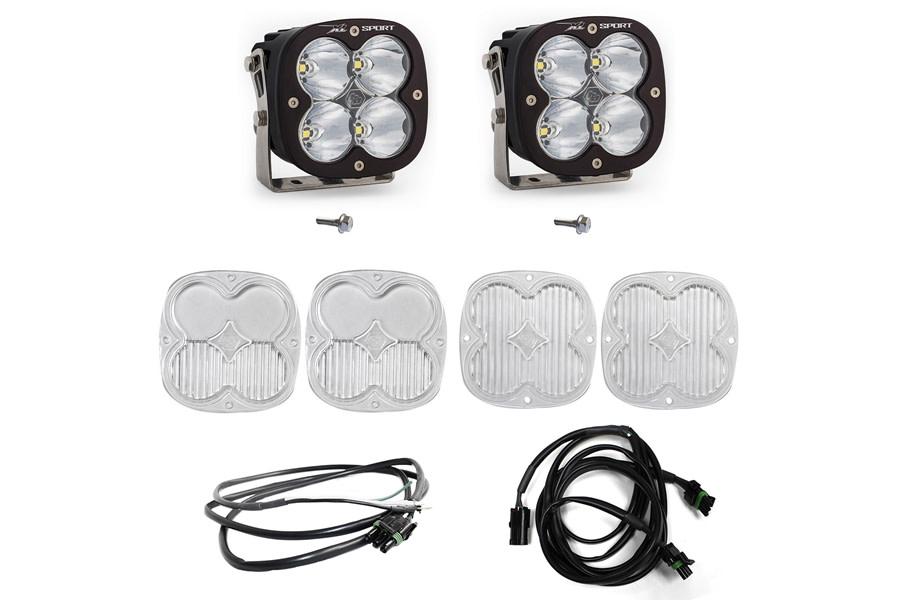 Baja Designs XL Sport Series A-Pillar Light Kit w/ Upfitter  - Ford Bronco