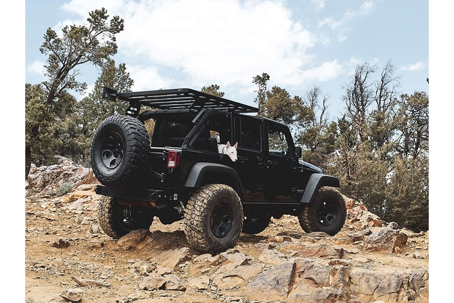 Front Runner Outfitters Extreme 1/2 Roof Rack Kit  - JK 4Dr