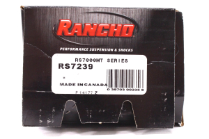 Rancho Performance RS7000MT Series Shock Front, 3-4IN Lift (Part Number: )