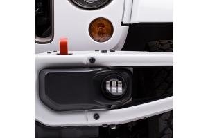 JW Speaker 6145 J2 Series LED Fog Light, Black - Passenger Side  - JL Sport