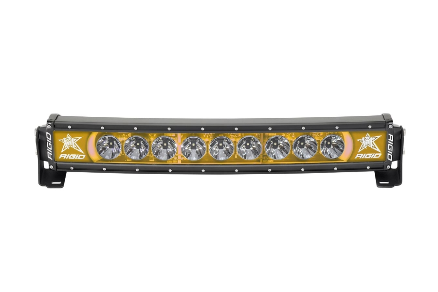 Rigid Industries RADIANCE+ Curved Light Bar Amber Backlight 20in