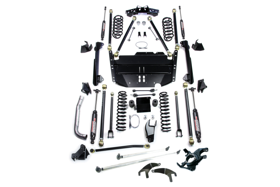 Teraflex 5in Pro LCG Lift Kit W/9550 Shocks & High Steer Kit (Part Number:1249570)