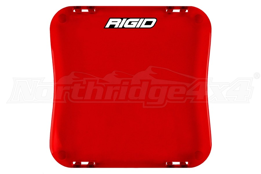 Rigid Industries D-XL Series Cover, Red (Part Number:321953)