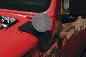 Rampage Cowl Cover/Light Mount - JT/JL