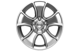 Mopar Cast Aluminum Wheel 17x8.5 5x5 Silver - JT/JL/JK