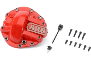 ARB Rear M220 Diff Cover - Red - JT Rubicon and Non-Rubicon /JL Rubicon Only