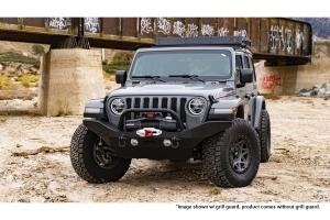 Body Armor Full Width Front Bumper - Black - JT/JL