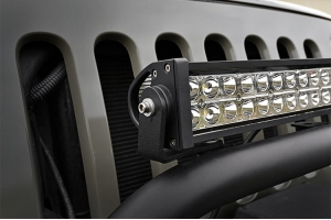 Rough Country 20in LED Light Bar Bumper Hoop Mounting Brackets (Part Number: )