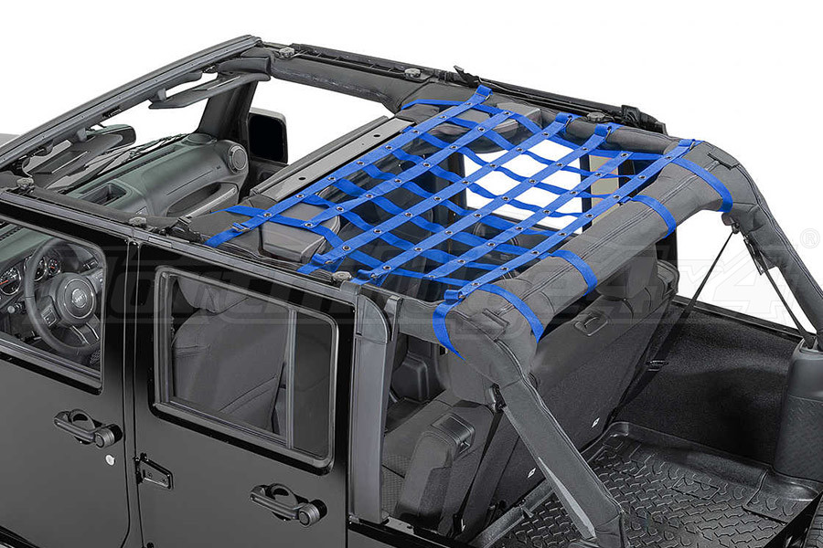 Dirty Dog 4x4 Rear Seat Netting Blue (Part Number:J4NN07M1BL)