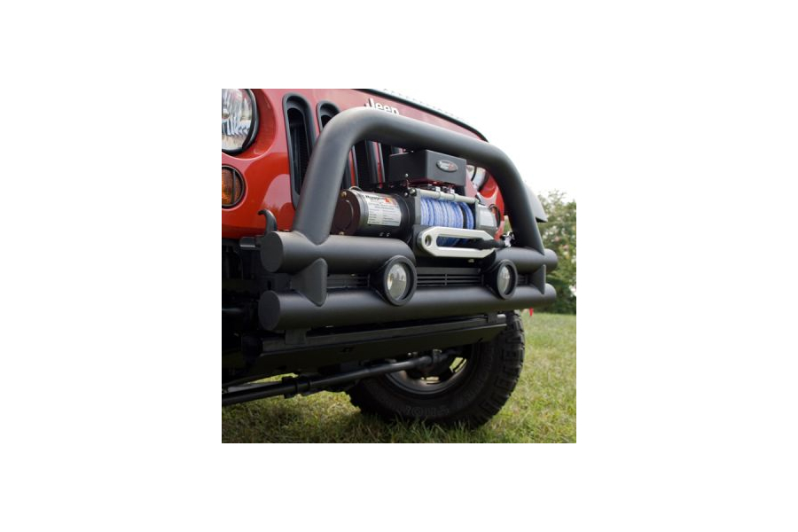 Rugged Ridge Stubby 3in Front Tube Bumper (Part Number:11561.12)